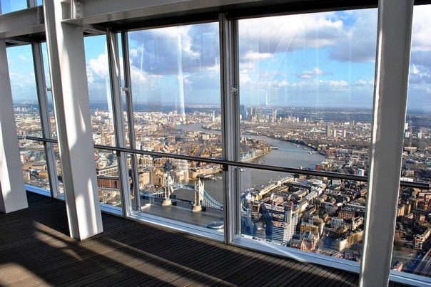 The View From The Shard - Foto Melissa Becker