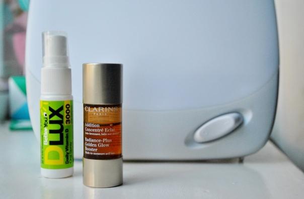 Vitamina D, bronzeador e caixa de luz - Fotos: Melissa Becker